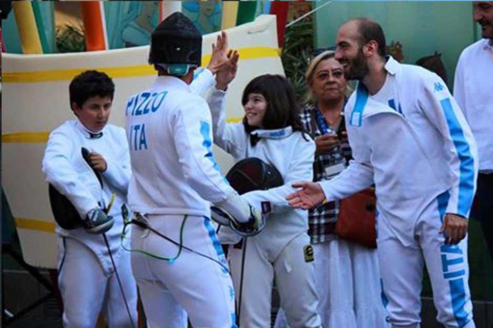 Accademia ascherma Lia Rio 2016 olimpionici