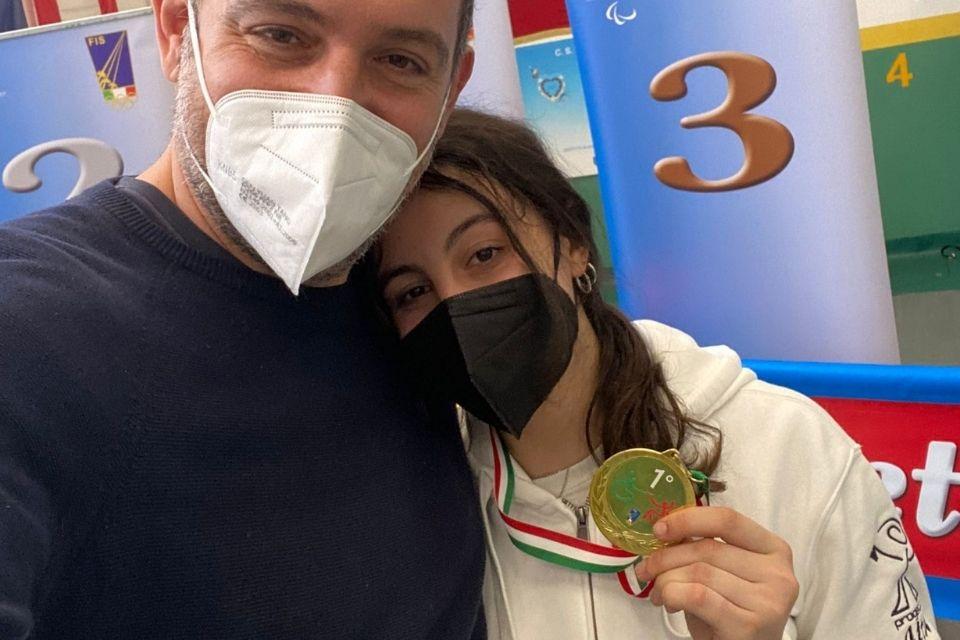 Vittoria per Rebecca D'Agostino